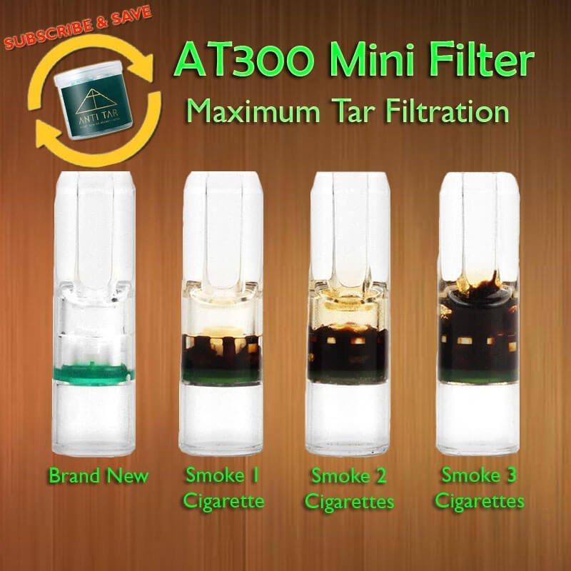 ANTI TAR AT300 3rd Gen Cigarette Mini Filter Auto Delivery