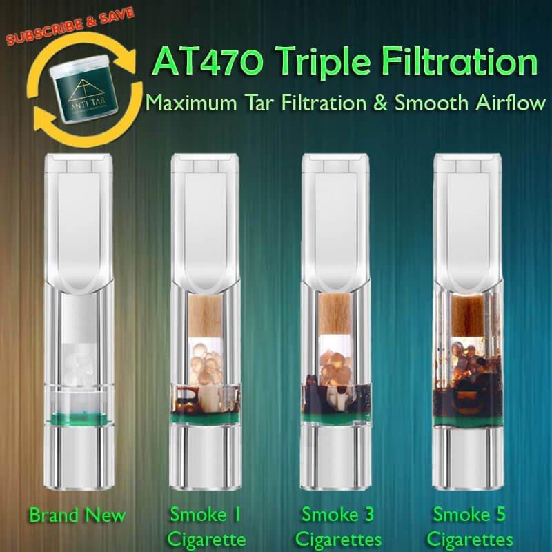 ANTI TAR AT470 Triple Tar Filtration Cigarette Holder Auto Delivery