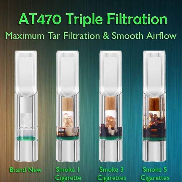 ANTI TAR AT470 Triple Tar Filtration Cigarette Holder